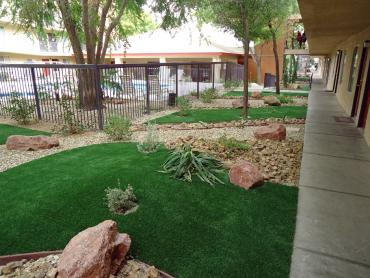 Artificial Grass Photos: Fake Grass Walnut Grove, California Roof Top, Commercial Landscape