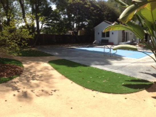 Grass Carpet Cedar Ridge, California Landscaping, Small Backyard Ideas artificial grass